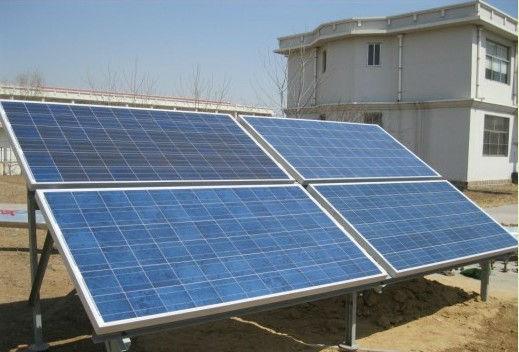 home built solar panel